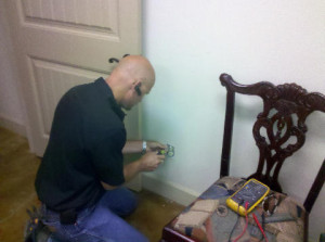 Wendt Electric makes sure all outlets are set properly as part of its standard residential electric services